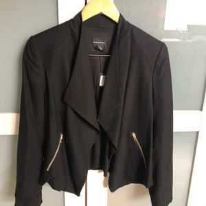 Club Monaco black blazer coat